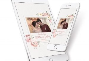 I will design amazing GIF Digital invitations for different occasions