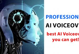I will do professional VOICEOVER using computer AI