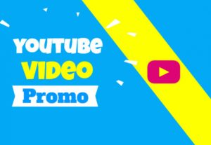 42647I will do youtube promotion with social ads encouraging views