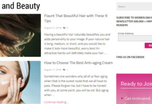 45133I will give you guest post at health and beauty blog