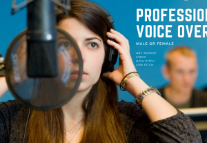 We do Professional Voice Over 
