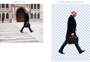We remove the background from your images and photos