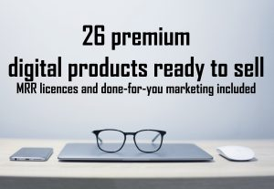 35236I will give you professional digital products ready to sell with MRR – package 2