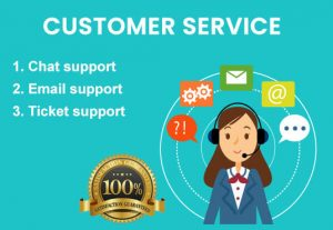 I will provide Customer service, Chat support, Inbound calls