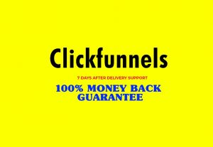 I will fix or build a sales funnel with clickfunnels