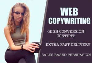 I will write persuasive sales copy for your website or service