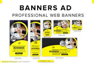 45762I will design professional web banners for ads