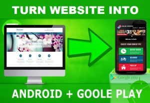 Convert your website to mobile App apk – create App for your website within 24hr