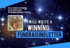 I will write a winning fundraising letter.