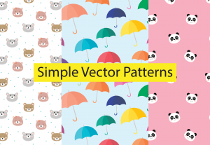 I will design simple vector repeat patterns for anything