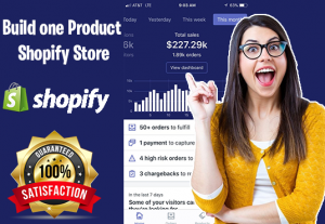 i will make you a Shopify Store that Converts 10K per Month
