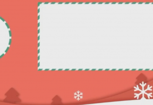 Outro Christmas style for videos of any type of platform