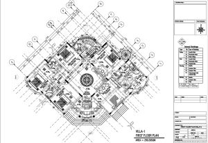 76743i will draw your architectural floor plan in auto CAD
