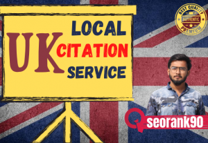 I will create top authority UK local citations