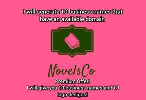82210I will generate 10 business names that have an available domain.