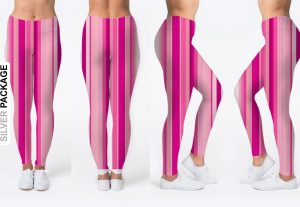 We are Expert in Making any Leggings mock up