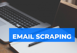 I will scrap targeted emails from linkedin instagram and facebook etc