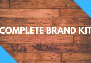 I will create a professional brand kit for your company