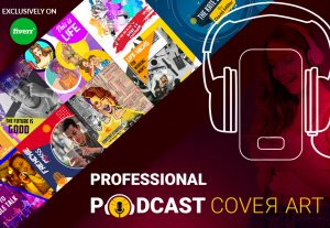 I will design professional itunes, spotify and others podcast cover art