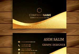 I will design premium business card for you