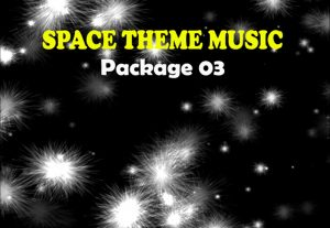 112381I will provide a Space Themed Background Music Package 03