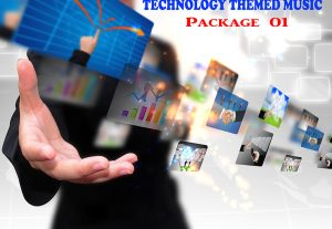 112390I will provide a Technology Themed Background Music Package 01
