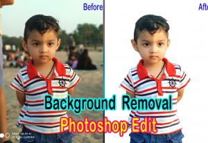 I will do professional Photoshop editing,image retouching and background removal