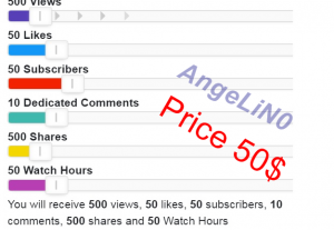 116681™Real YouTube Promotion Package All In One Service Instant Start for 50$