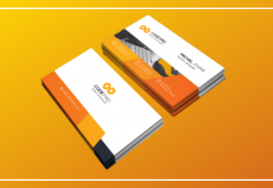 create an eyecatching business card for your activity