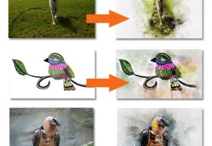 I will create a great digital watercolour painting from your photo