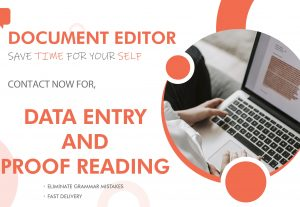 Data Entry – I can re-enter your DATA