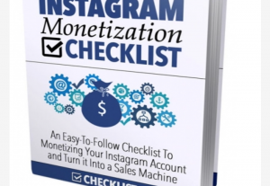 Instagram Monetization Checklist.