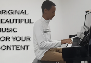 I will compose an original, beautiful music for your content