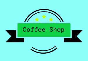 COFFEE SHOP logo. Best for your coffee shop or restaurant business.