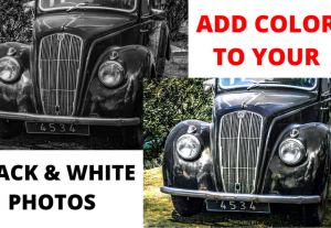 I will add color to your old black and white images.