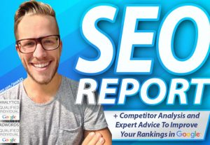 I will create a professional SEO audit report and action plan