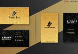 I will create a luxury business card design