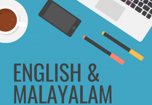 I will provide professional English and Malayalam male voice over