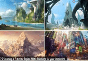I will do concept art or background for your game, matte painting