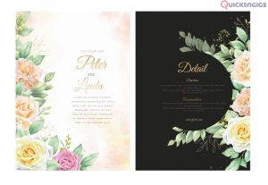 I will design creative and attractive invitation for your any occasion