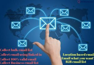 I will provide 20k niche targeted email list