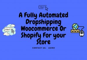 Create A Fully Automated Dropshipping Woocommerce Or Shopify For your Store.