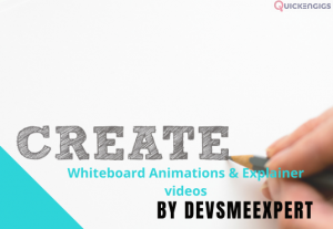 I will create the best whiteboard animation and explainer video