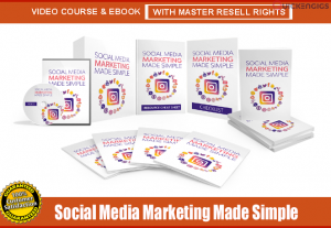 "Offer "" Social Media Marketing Made Simple "" Video Course & eBook, Resell Rights"