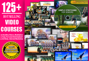 125+ High Quality Video Courses with Master Resell Rights + Bonus 1000 eBooks