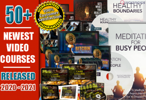60 High Quality Latest Video Courses Released 2020 – 2021 With Resell Rights
