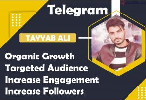 I will fast organic telegram growth in group and channel