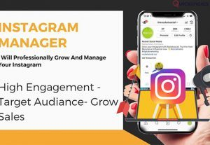 I will Manage and Grow real Instagram Followers