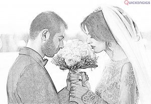 I will make Pencil Sketch your of Couple/Family photos