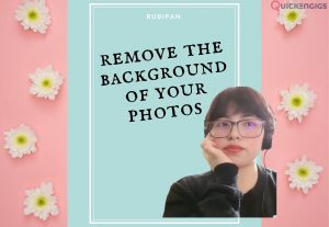 I will remove the background of your photographs